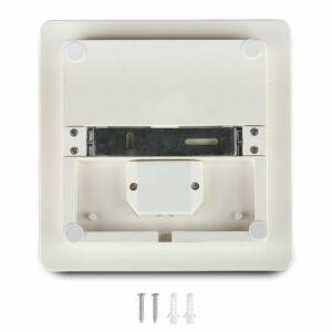 25W Keret nélküli mennyezeti LED lámpa négyszög IP44 3000K - 13959