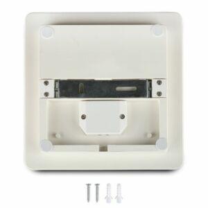 25W Keret nélküli mennyezeti LED lámpa négyszög IP44 4000K - 13969