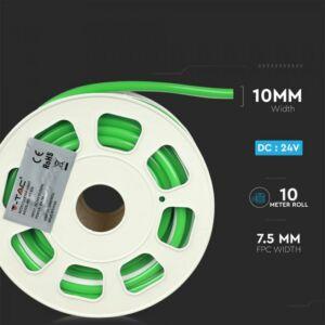 Neon Flex oldalirányba hajlítható 24V Zöld 2517 (10 méter)
