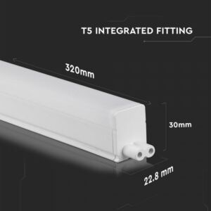 4W T5 30cm LED Komplett lámpatest Samsung chip 3000K - PRO689